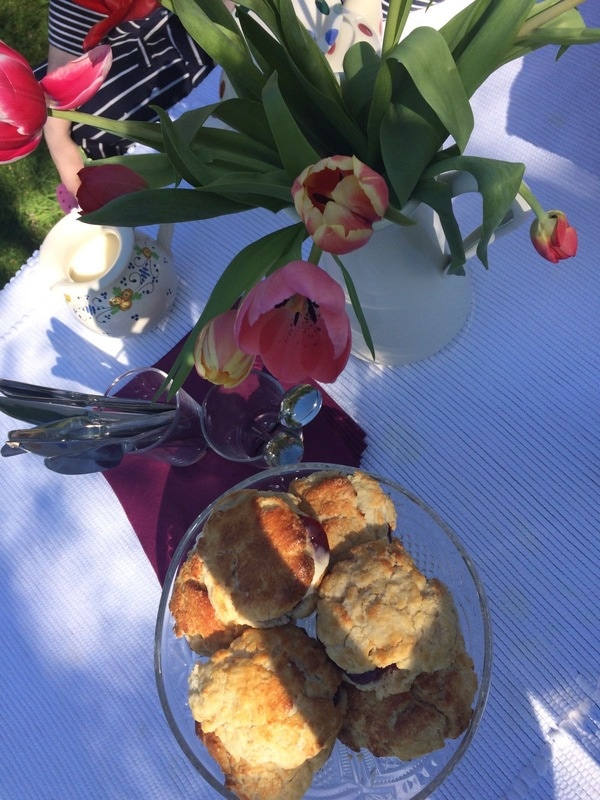 Paintbox Luxury Art Retreat- Sunshine and Scones