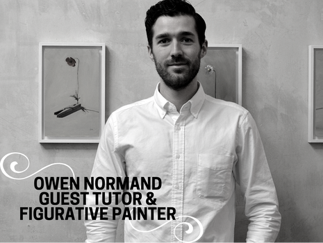 Owen Normand- Guest Tutor and Figurative Painter