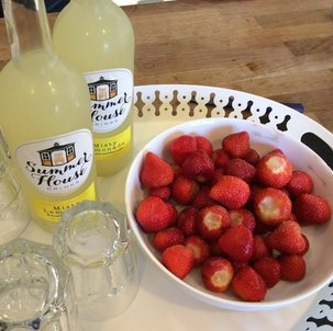 Paintbox Luxury Art Retreat- Lemonade and Strawberries